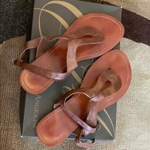 Cute pair of sandal.